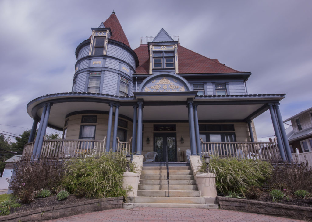 The Levi Deal Mansion in Myersdale / credit: Jim Cheney