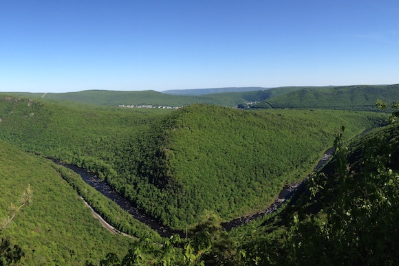 Lehigh Gorge in the Poconos
